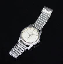 An Omega Seamaster wristwatch