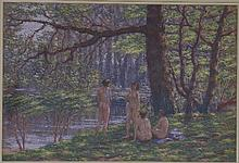 Gerald Ososki/The Bathers, Kenwood (A