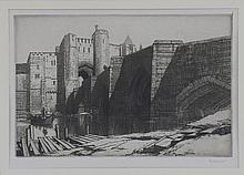 Frederick Landseer Griggs/The Cresset/signed in