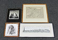 A quantity of prints and photographs