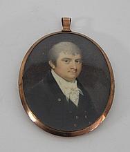 English School, circa 1810/Portrait Miniature of a