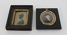 Filippo Giacomo Remondini/Portrait Miniature of a