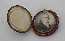English School, circa 1800/Portrait Miniature of a
