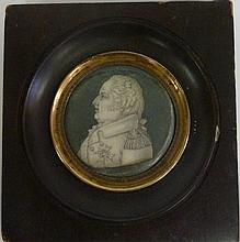 English School, circa 1810/Portrait Miniature of