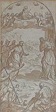 Follower of Palma il Giovane/The Visitation/pen