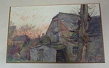 William Augustus Rixon / Mill at Corfe Castle/