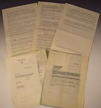 Martin Luther King, Jr. Publication Contract