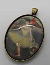 Edgar Degas Art Pendant
