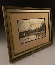 Jamie Wyeth Silver Plaque
