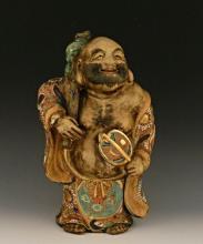 A Chinese Standing Buddha