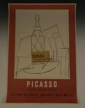 Pablo Picasso 1956 Mourlot Signed Poster