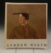 Andrew Wyeth Signed Exhibition Catalog