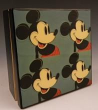 Andy Warhol Mickey Mouse Music Box