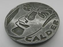 Alexander Calder Medallion