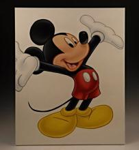 Mickey Mouse Original Oil Painting