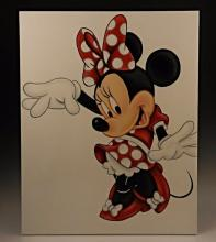 Minnie Mouse Original Oil Painting