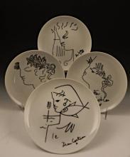 Jean Cocteau, Collector Plates