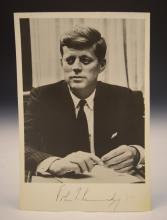 President John F. Kennedy Signed Photograph