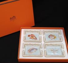 Grouping of Hermes Ashtrays