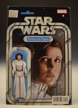 Mark Waid, Princess Leia Signed Magazine