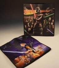 George Lucas Signed Star Wars Bags