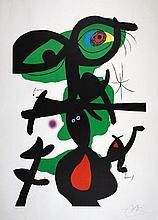 Joan Miró. Blatt 9 aus »Oda a Joan Miró«.