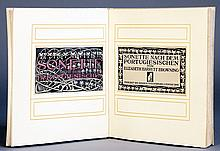Steglitzer Werkstatt - Elizabeth Barrett Browning. Sonette nach dem Portugiesischen.