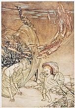 Arthur Rackham - [Friedrich] Baron de la Motte Fouqué. Undine