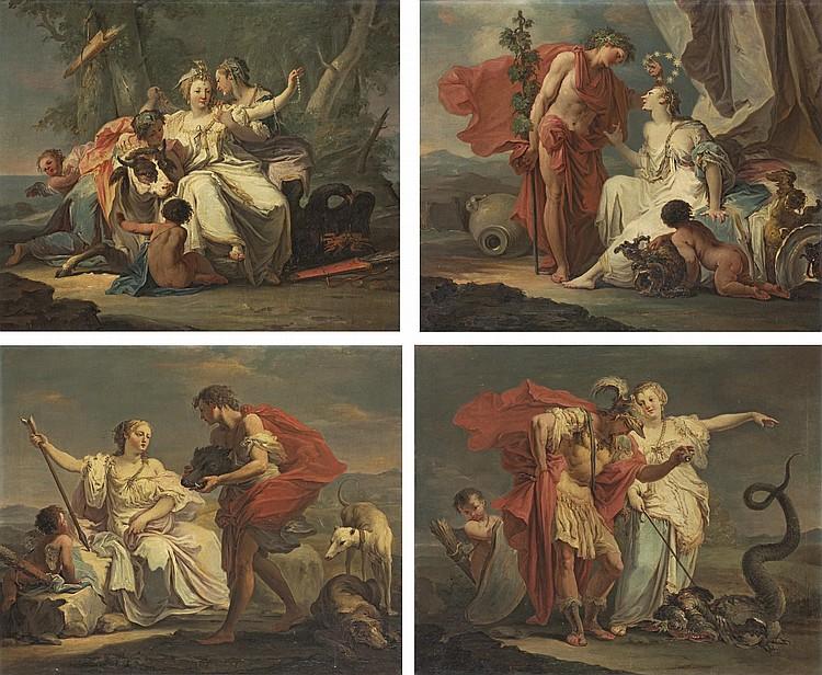 Giovanni Battista Crosato (Treviso c. 1697-1756 Venice)