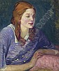 Carol with Red Curls, John French Sloan, Click for value