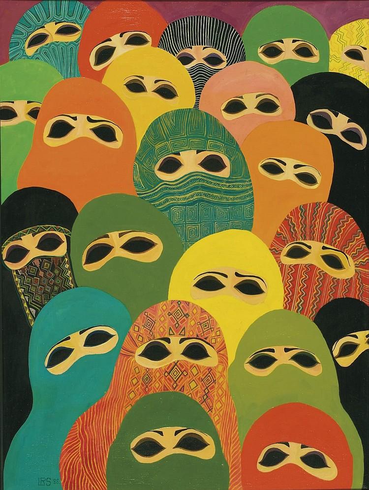 Laila Shawa (Palestinian, b. 1940)