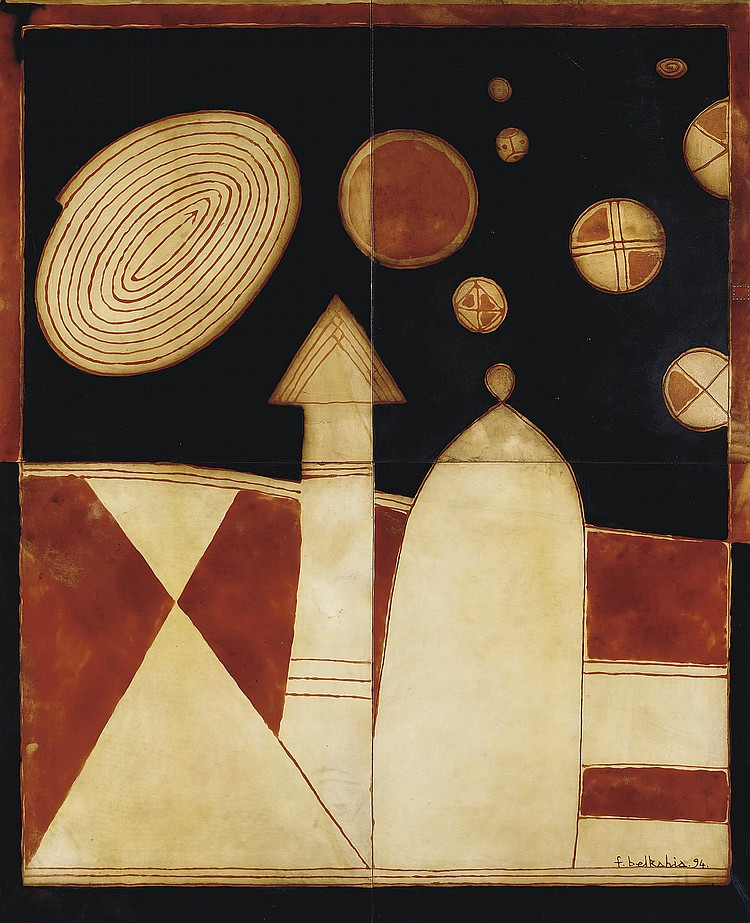 Farid Belkahia (Moroccan, b. 1934)