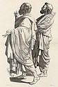 POUSSIN, Nicolas (1593/4-1665).  <I>Recueil de Tetes et de Figures choisies dans les plus beaux</I>, Nicolas Poussin, Click for value