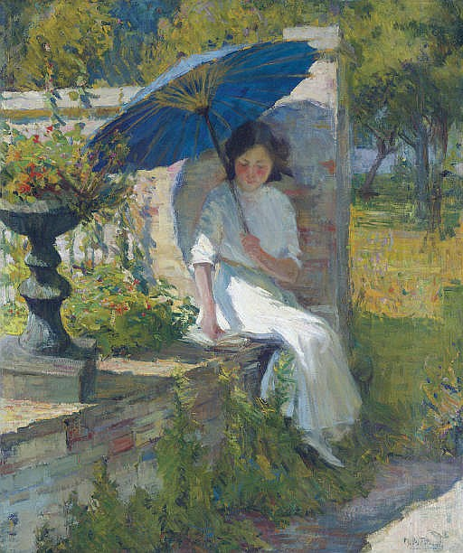 The Blue Parasol