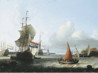 Ludolf Bakhuizen (Emden, East Frisia 1630-1708 Amsterdam)