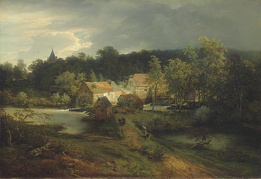The Watermill in the Village
