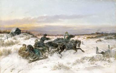 NIKOLAI EGOROVICH SVERCHKOV (1818-1898)