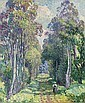Pierrefonds, la promenade en forêt, Henri Lebasque, Click for value