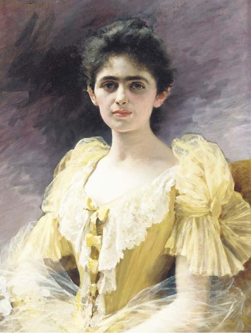Edouard Bernard Debat-Ponsan (French, 1847-1913)
