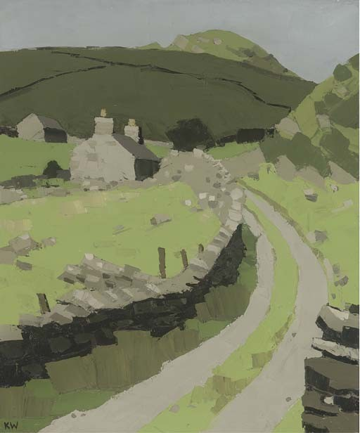 Kyffin Williams Works On Sale At Auction Amp Biography