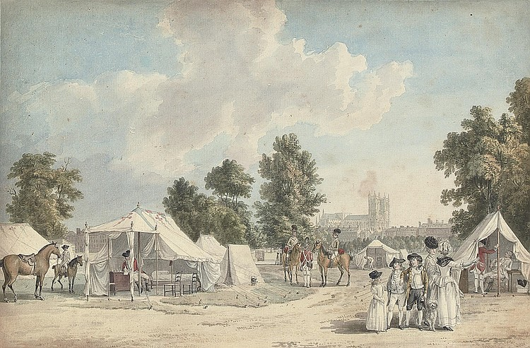 Paul Sandby, R.A. (Nottingham 1731-1809 London)