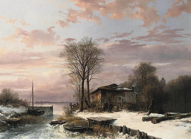 Abraham van der Wayen Pieterszen (Middelburg 1817-1880 Sint-Maria-Horebecke)
