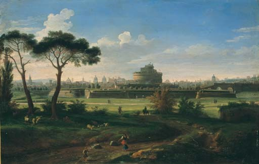 GASPAR VAN WITTEL, DIT VANVITELLI (AMERSFOOT 1653-1736 ROME)