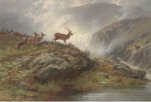 Charles Stuart, F.S.A. (British, fl.1880-1904)