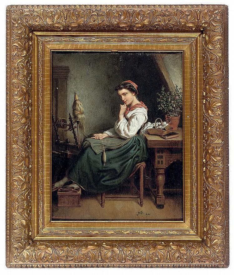 Pieter Alardus Haaxman (Dutch, 1814-1887)