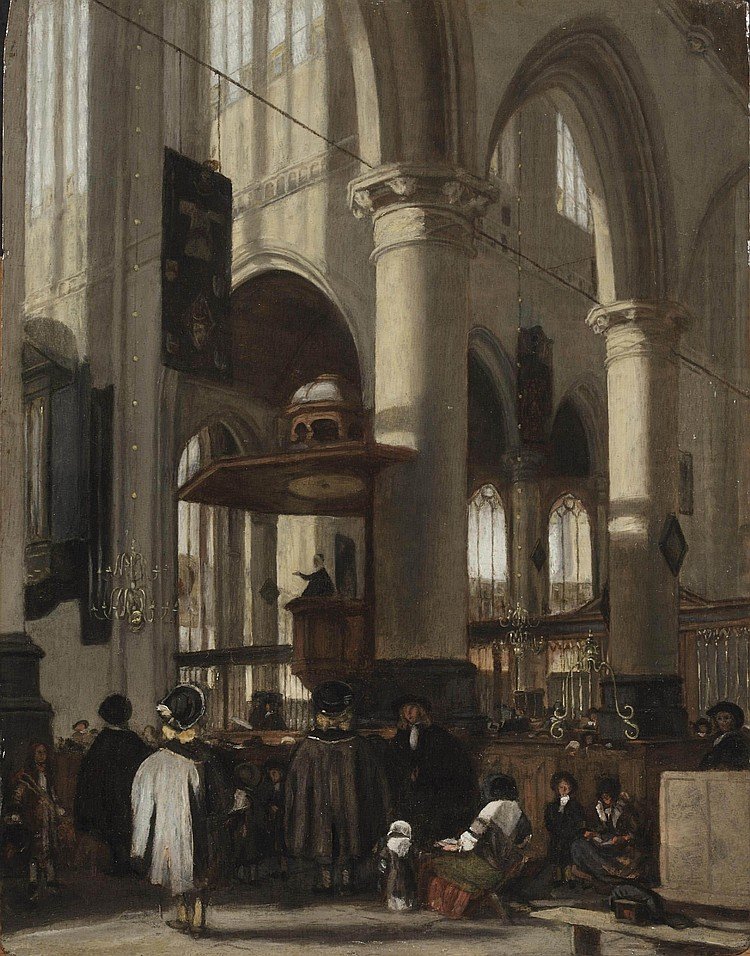 Emanuel de Witte (Alkmaar 1617-1692 Amsterdam)