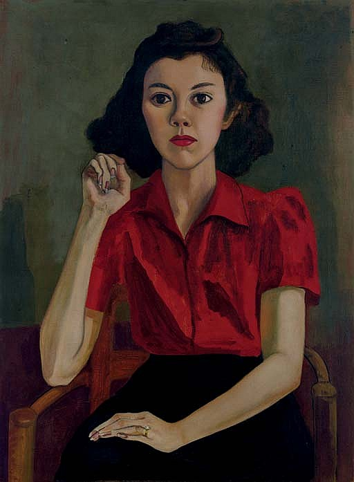 Portrait (Roberta Johnson Roensch)