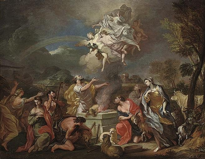 Attributed to Alessandro Marchesini (Verona 1664-1738)