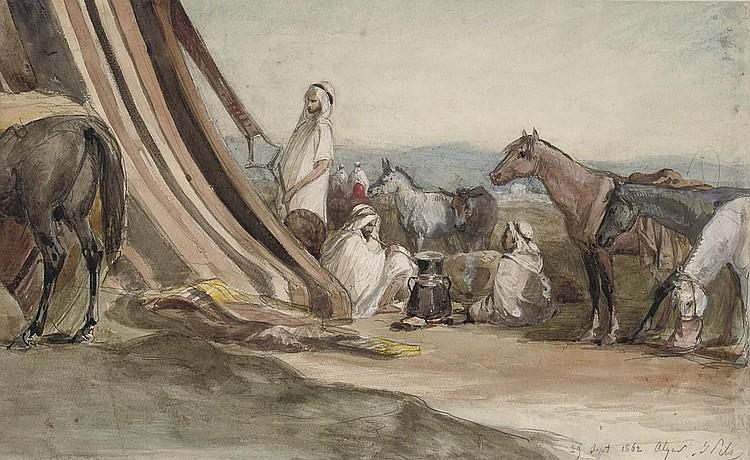 Isidore-Alexandre-Augustin Pils (Paris 1813-1875 Douarnenez)