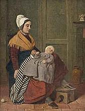 James Collinson (1825-1881)   The young mother